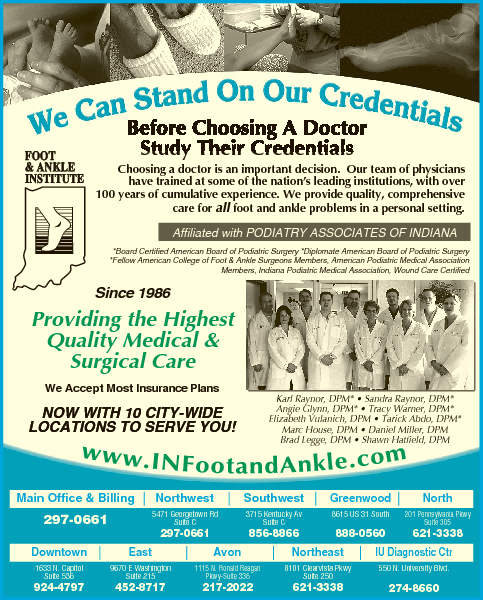 Podiatry Associates Of Indiana