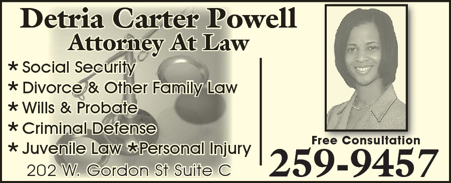 Powell Detria Carter Attorney At Law PA