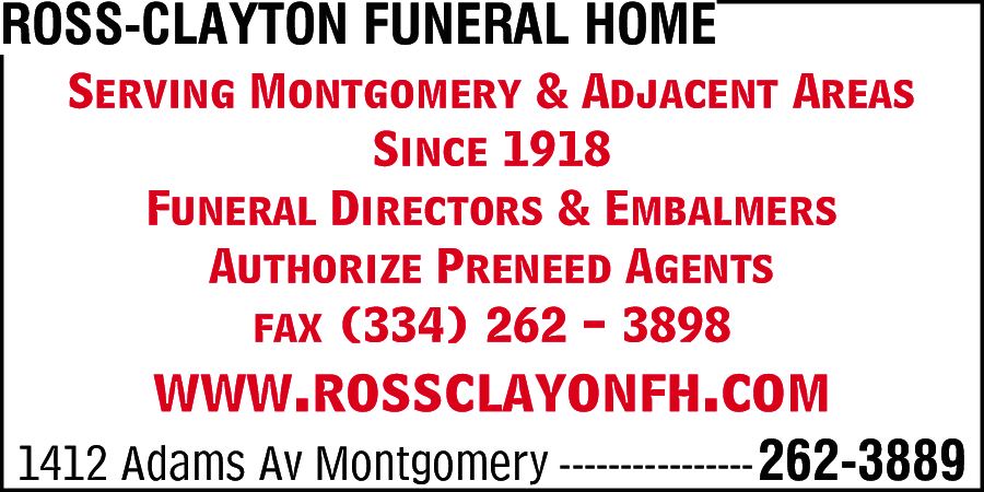 Ross-Clayton Funeral Home