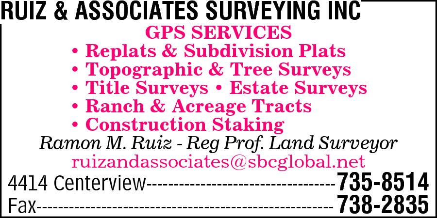 Ruiz & Associates Surveying Inc
