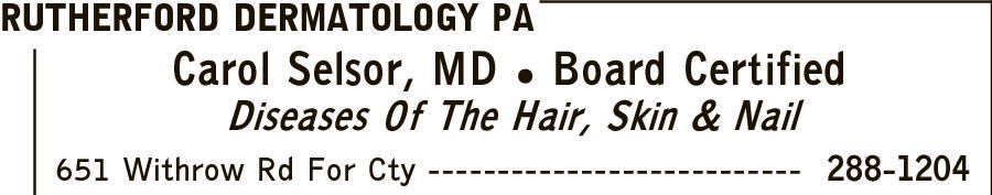 Rutherford Dermatology PA