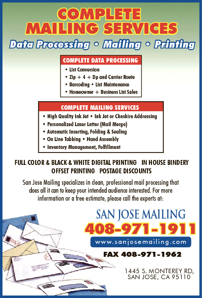 San Jose Mailing