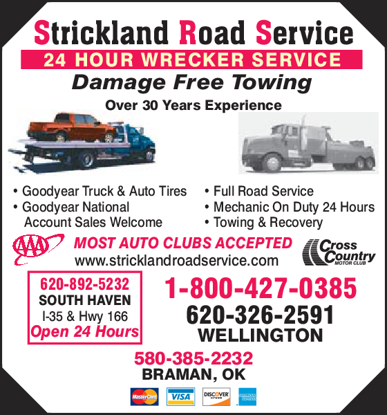 Strickland Road Service