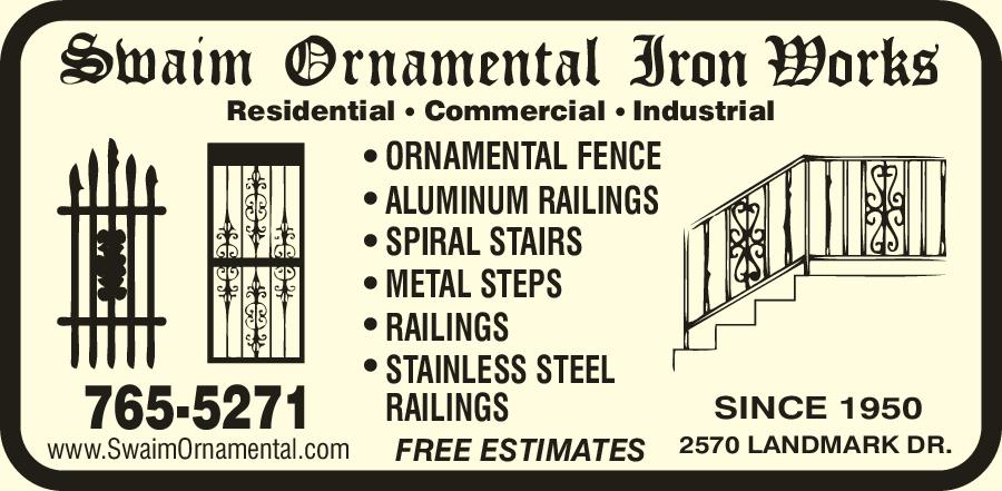 Swaim Ornamental Iron Works