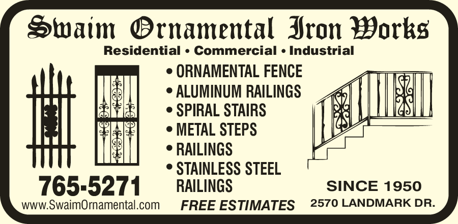 Swaim Ornamental Iron Works