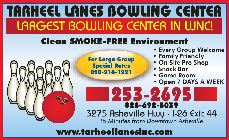Tarheel Lanes Family Recreation Center