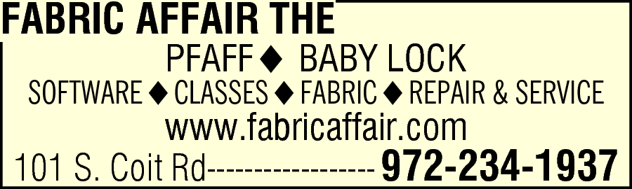 The Fabric Affair