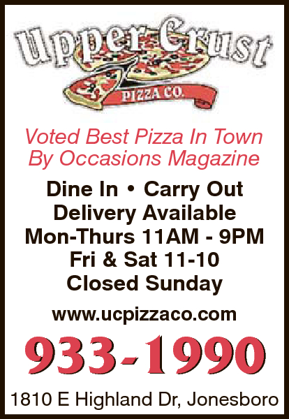 Upper Crust Pizza Co