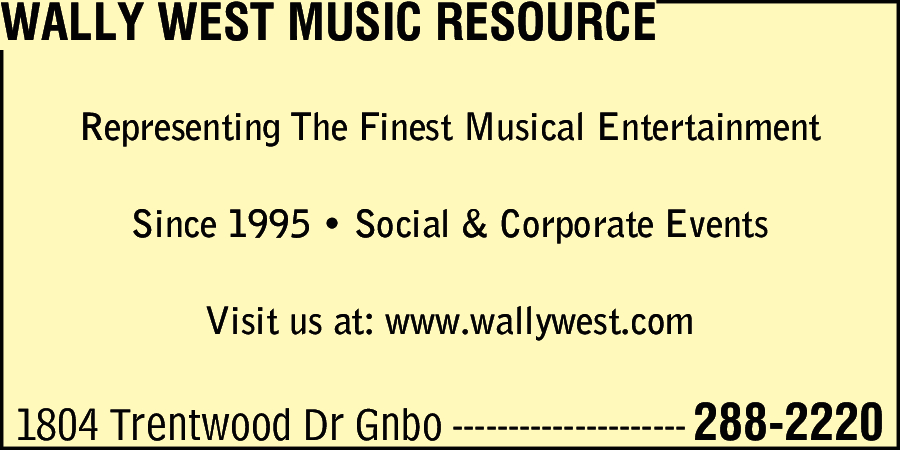 Wally West Music Resource