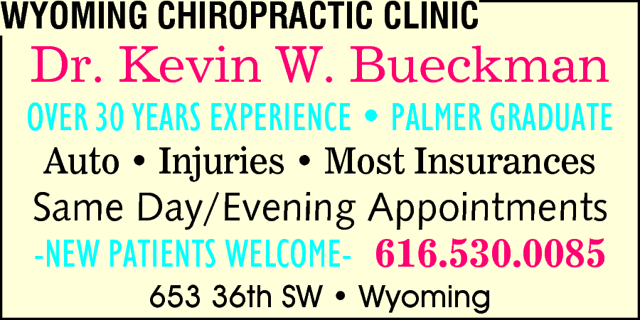 Wyoming Chiropractic Clinic
