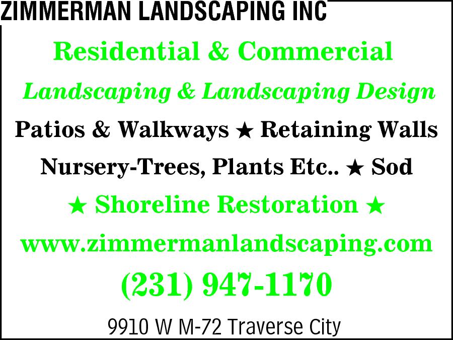 Zimmerman Landscaping Inc