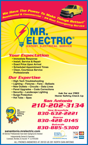 Mr. Electric of San Antonio