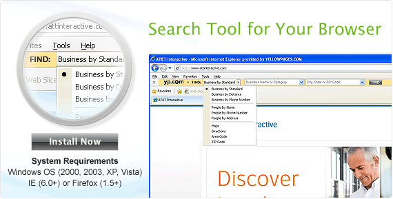 Search Tool for your Browser: Install Now