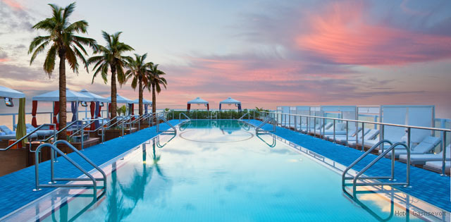 The Perry South Beach Rooftop Pool