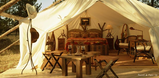 Glamping - The Resort at Paws Up