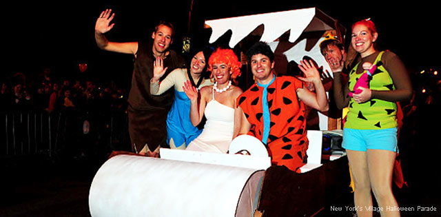 DIY Group Costumes - The Flintstones