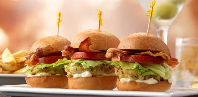 Cheap Eats - Crab BLT sliders at Morton's The Steakhouse happy hour