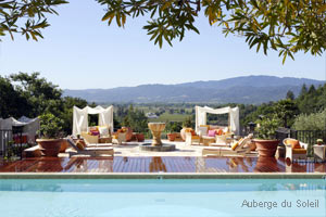 Gorgeously Romantic Hotel Suites - Auberge du Soleil - Rutherford, CA