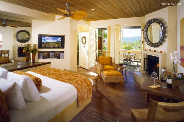 Gorgeously Romantic Hotel Suites - Auberge du Soleil - Rutherford California - Terrace Rooms