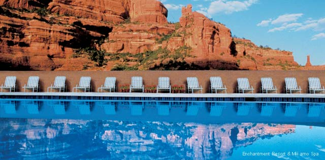America's Fabulous Hotel Pools - Enchantment Resort