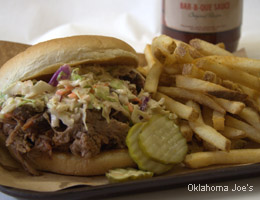 Oklahoma Joe's Carolina pulled pork