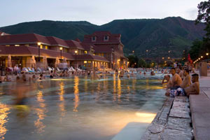 America's Fabulous Hotel Pools - Glenwood Hot Springs, CO