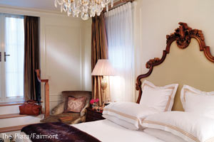 Gorgeously Romantic Hotel Suites - The Plaza - New York - Royal Terrace Suite