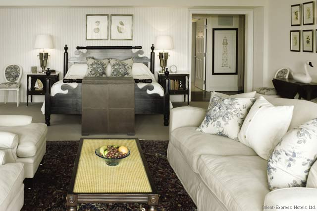 Gorgeously Romantic Hotel Suites - The Inn at Perry Cabin - St. Michaels Maryland - Master Suite