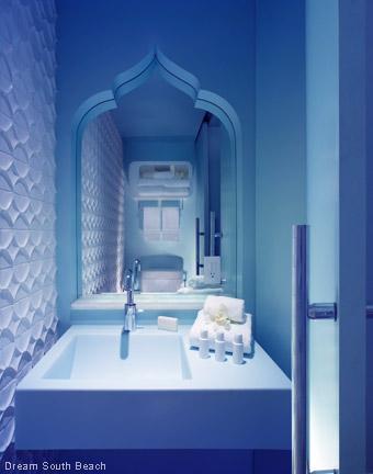 Fabulous Hotel Baths - Dream South Beach - FL