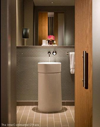 Fabulous Hotel Baths - InterContinental Chicago O'Hare