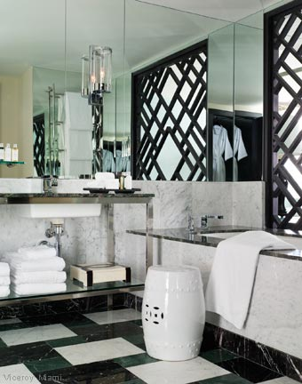 Fabulous Hotel Baths - Viceroy Miami