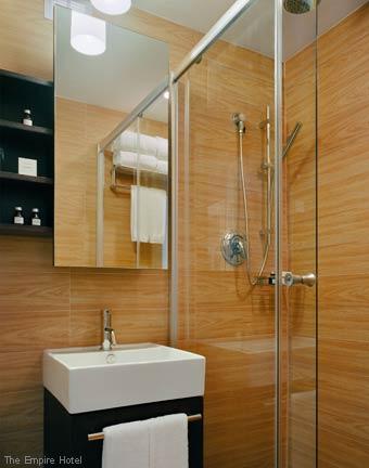 Fabulous Hotel Baths - The Empire Hotel New York Bathroom