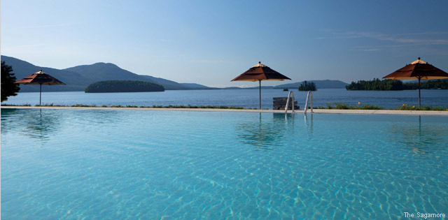 America's Fabulous Hotel Pools - The Sagamore