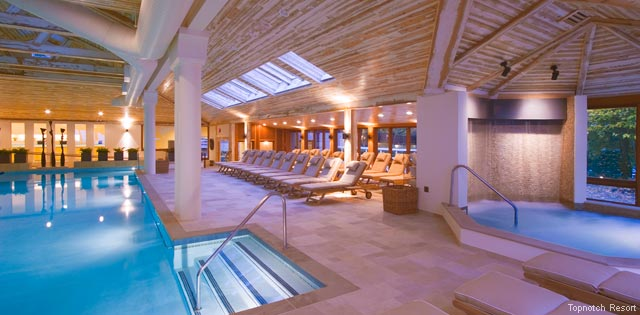 America's Fabulous Hotel Pools - Topnotch Resort