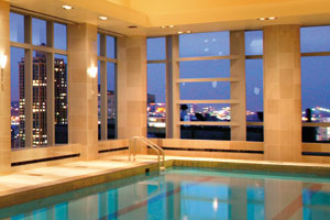 Mandarin Oriental New York Indoor Lap Pool