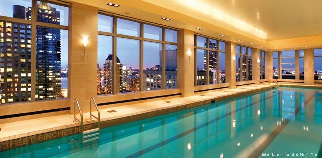 Mandarin Oriental New York Indoor Lap Pool