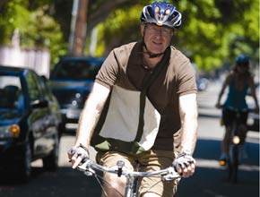 Ed Begley Jr. on His Bike