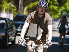 Ed Begley Jr. on His Bike
