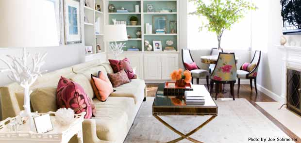 Erinn Valencich living room project