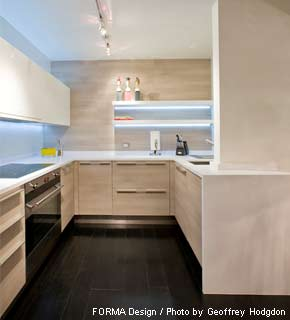 FORMA Design's Georgetown Canal kitchen project.