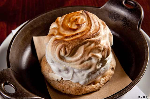 Baked Alaska at Absinthe Brasserie & Bar