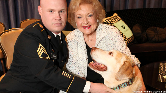 Betty White on Outrageous Pet Trends and Who Her Heroes Are