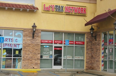 Int'l Tax & Accounting Network Inc - Canyon Country, CA. Front of the building