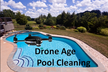 Drone-Age Pool Cleaning