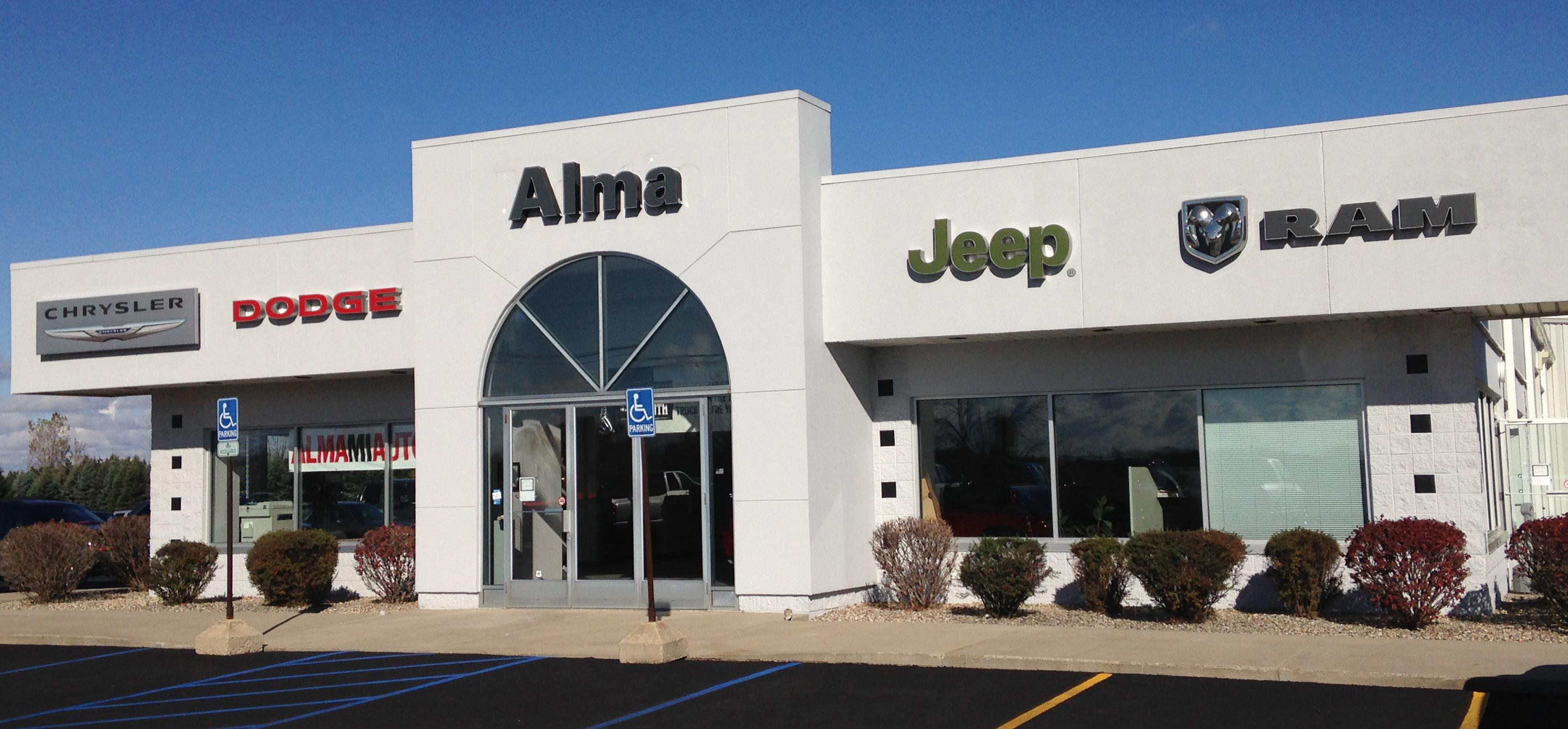 Alma Chrysler Jeep Dodge Ram 2280 W Monroe Rd Alma MI YP
