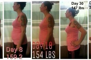 30 day transformation!