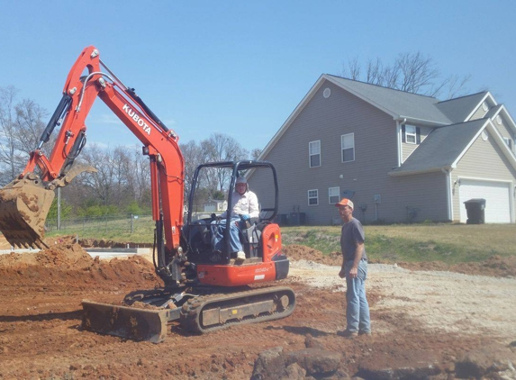 King's Septic Repair & Replacement - Iva, SC. New construction! About the 20th house we've done in this neighborhood.
