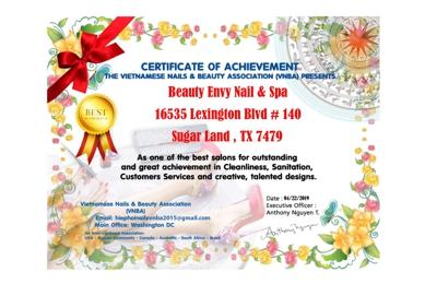 Beauty Envy Nail & Spa - Sugar Land, TX
