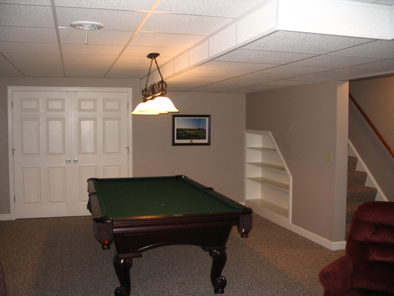 Sam Pitzulo Homes & Remodeling - Canfield, OH. basement Remodels
