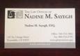 Law Offices of Nadine M. Sayegh - Escondido, CA
